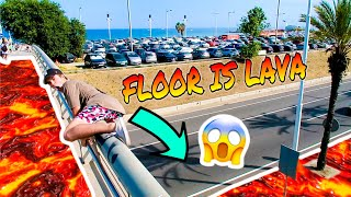DEADLIEST FLOOR IS LAVA CHALLENGE!!! (DANGEROUS GAME)