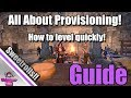 ESO: Provisioning Guide!  How to Level it Quickly