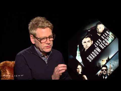 """""""Jack Ryan: Shadow Recruit"""" Interviews with Chris Pine and Kenneth Branagh"""
