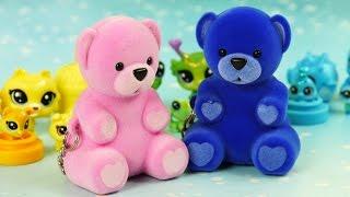 Słodziaki w kolorach tęczy | Misie Episie & Littlest Pet Shop | Bajki dla dzieci