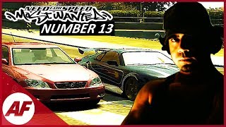 Need for Speed Most Wanted - Number 13 on a Blacklist Let
