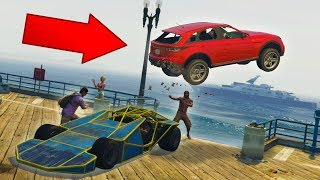 I CAN'T BELIEVE I PULLED THIS OFF! *RAMP CAR TROLLING!* | GTA 5 THUG LIFE #164