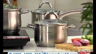 HomeShop18 - Bergner 10 pc Jumbo Cookware Set