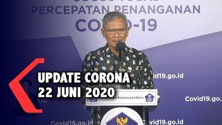 Update Corona 22 Juni: 46.845 Positif, 18.735 Sembuh, 2.500 Meninggal Dunia