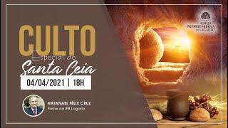 Culto   04/04/2021