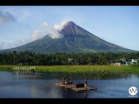 An Enchanting View of Mayon in Sumlang Lake, Camalig, Albay