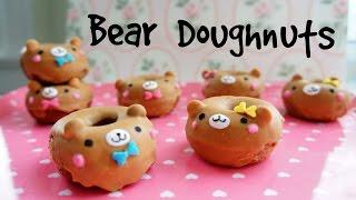 How to Make Mini Bear Doughnuts - Valentine's Recipe