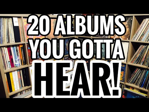 20 Albums YOU GOTTA HEAR! My Top Record Recommendations Blues, Jazz, Psych, Indie, Soul, Funk & Folk