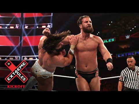 Drew Gulak laces Tony Nese with a flying clothesline: WWE Extreme Rules 2019 Kickoff