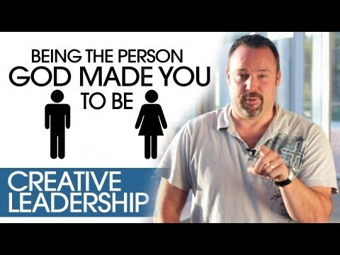Being The Person God Made You To Be | Creative Leadership Tips | Chris Brown, North Coast Church