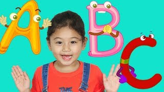 ABC Sing A Long Alphabet Song with Mona
