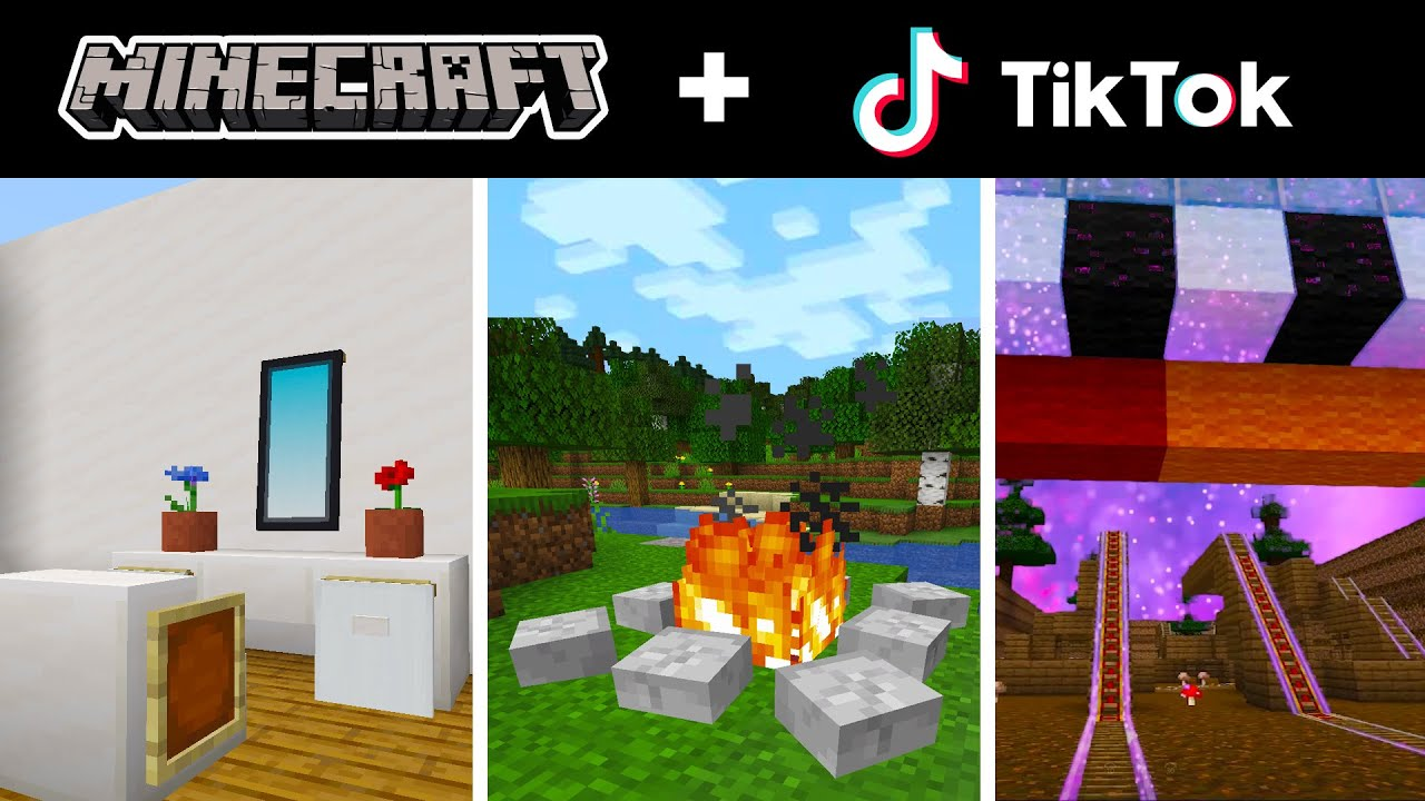 Minecraft Tik Tok Compilation 18