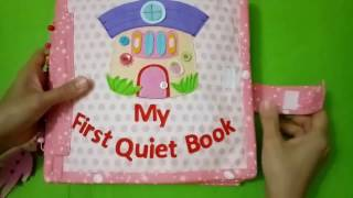 Quiet book for kid/Book for girls/Skill practice book /felt book/ busy book