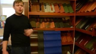 видео Виды керамической черепицы