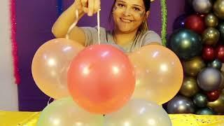 DIY - Coluna de carnaval para lojas - Balões Pic Pic