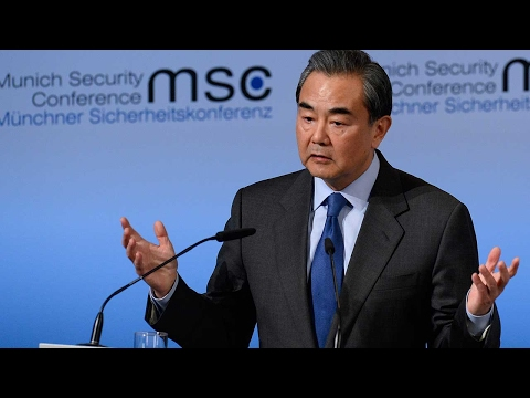 Chinese FM stresses importance of multilateralism at Munich Security Conference