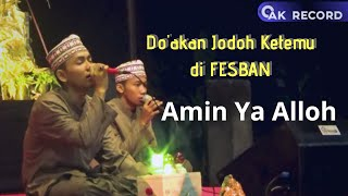 [Lirik Arabic] Sukarol Munsyid - Juara 1 - Fesban IPNU IPPNU Kedungturi 2018