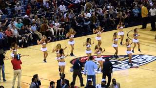 Your Pelicans Dance Team - Horns Blow