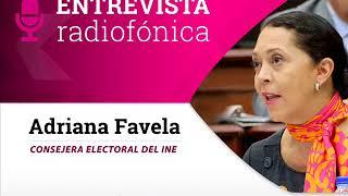 Entrevista de Adriana Favela con Ciro Gómez Leyva sobre renuncia de mujeres en Chiapas