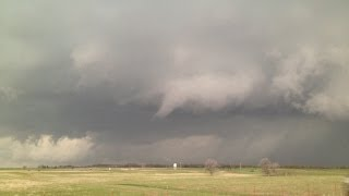 4/17/2013 Dangerous Tornado Warned Storm in Lawton, OK
