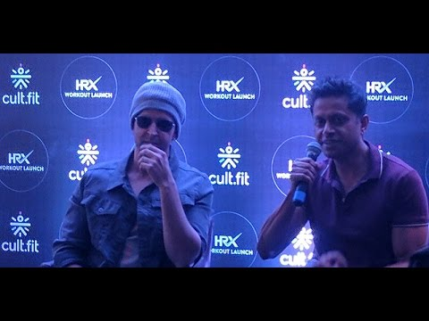 Hrithik Roshan   at a CULT event   in Bangalore   11th March 2017