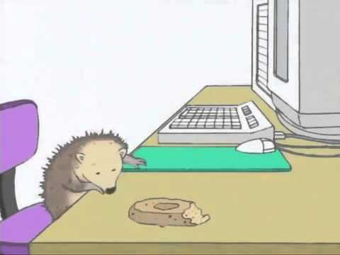 Kipper The Dog Hedgehog Watch