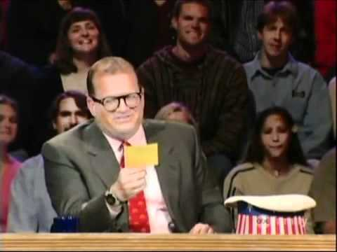 whose line drew carey show references youtube