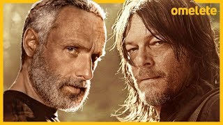 FINALMENTE! THE WALKING DEAD RESSUSCITOU