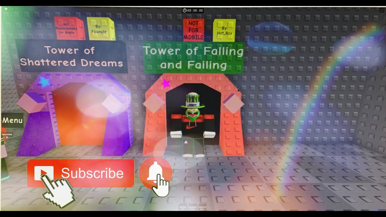 Tower of Falling and Falling (ToFaF) Jtoh speedrun! [Roblox]
