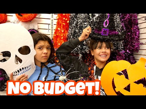 HALLOWEEN ROOM Makeover!! NO BUDGET DOLLAR STORE HAUL!