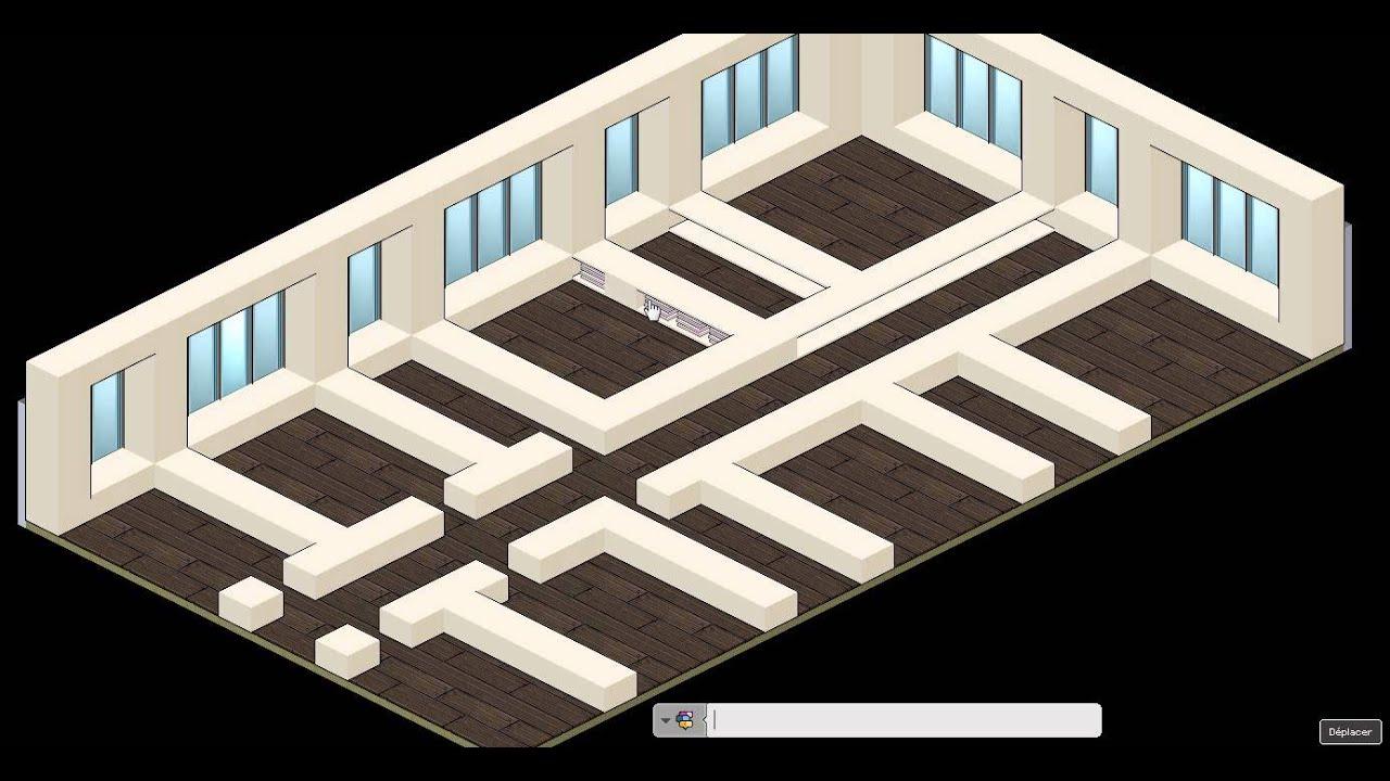 tuto appart cr er une maison moderne youtube. Black Bedroom Furniture Sets. Home Design Ideas