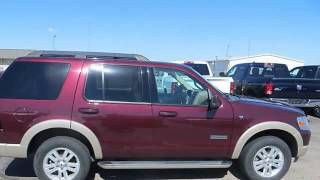 2008 FORD EXPLORER - Cummins Auto Group - Weatherford, OK 73096