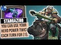 Inspire Mage BUT TWICE EACH TURN! | Heist Ch. 5 | Rise of Shadows | Hearthstone