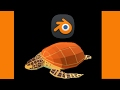 Making off 3d turtle with Blender low poly