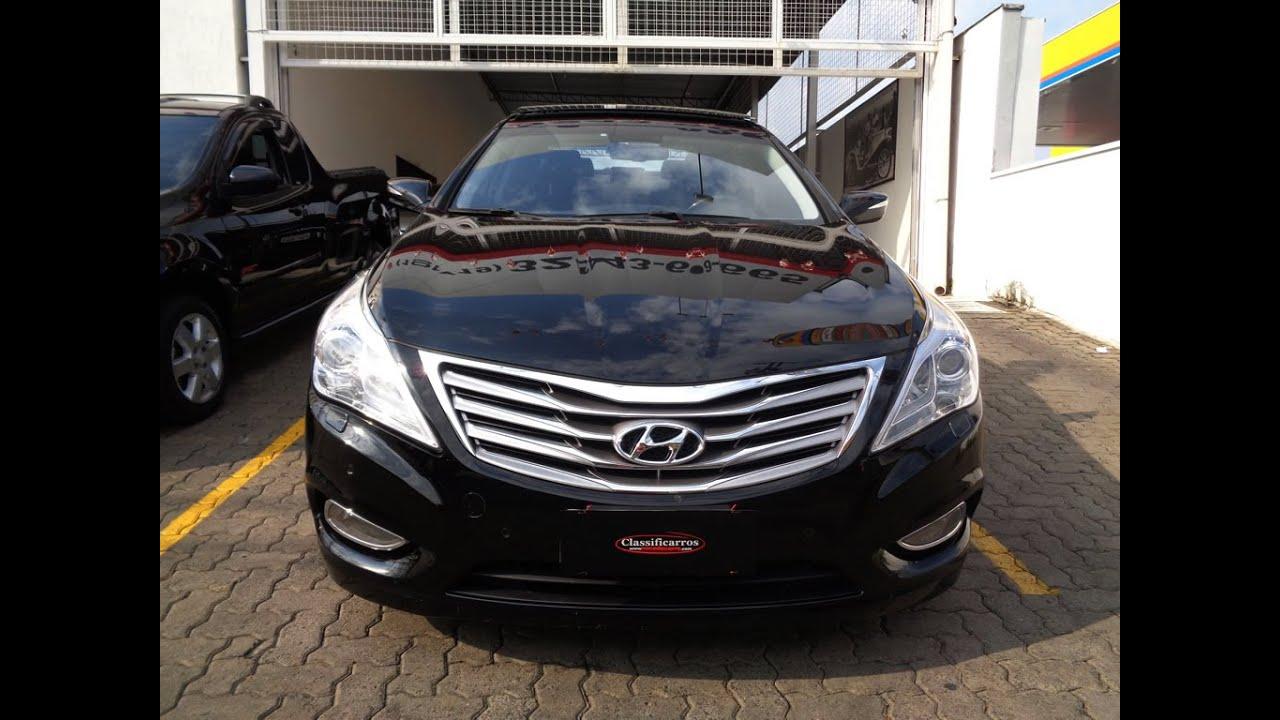 Hyundai Azera V6 3 0 24v Autom 225 Tico 2012 Youtube