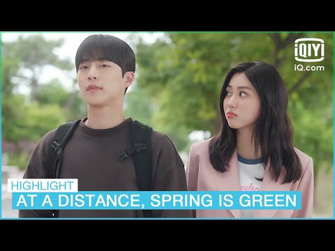 Young-ran tries to make Soo-hyun jealous | At a Distance, Spring is Green EP11 | iQiyi K-Drama