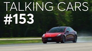 We Re-Test Our Tesla Model 3's Braking Performance | Talking Cars #153