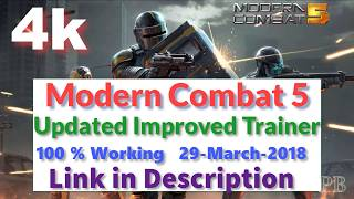 Modern Combat 5 Trainer Working 100% | Multiplayer | Wall Hack | Jump Hack | Fly Hack | Trainer 6.0