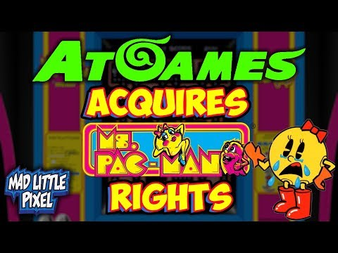 AtGames Acquires Ms. Pac-Man Rights! What Is Going To Happen Now?!