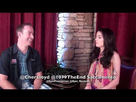 Cher Lloyd Chris K 1079 The End Sacramento Interview Epic Records @EpicPromotion