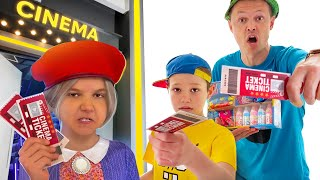 Как Макс и папа проносили сладости в кинотеатр