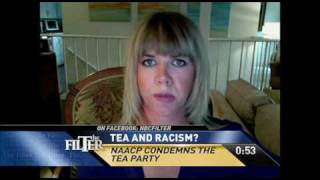 Sparks Fly after the NAACP calls the Tea Party Racist