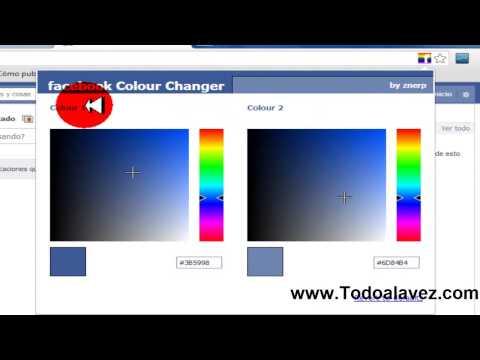 Como Cambiar El Color De Las Letras De Facebook - Truco Para Facebook 2014