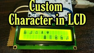 Custom character in LCD with Arduino | Print Anything in LCD | Amazing Mj