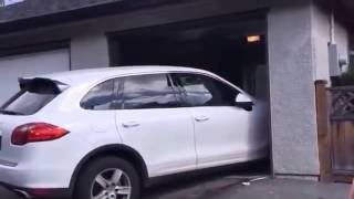 16-year old parks Porsche in Vancouver