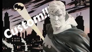 Unboxing a Custom Bruce Wayne Head sculpt for Sideshow's Premium Format Batman!!!