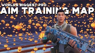 The Largest Aim Map in Fortnite.