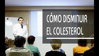 CÓMO DISMINUIR EL COLESTEROL