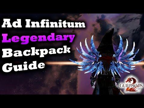 Ad Infinitum Legendary PvE Backpack Guide for Guild Wars 2