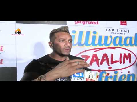 Jazzy B & Hard Kaur - Dilliwaali Zaalim Girlfriend - Music Launch In Mumbai !!!